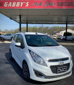 2014 Chevrolet Spark for sale at GABBY'S AUTO SALES in Valparaiso IN