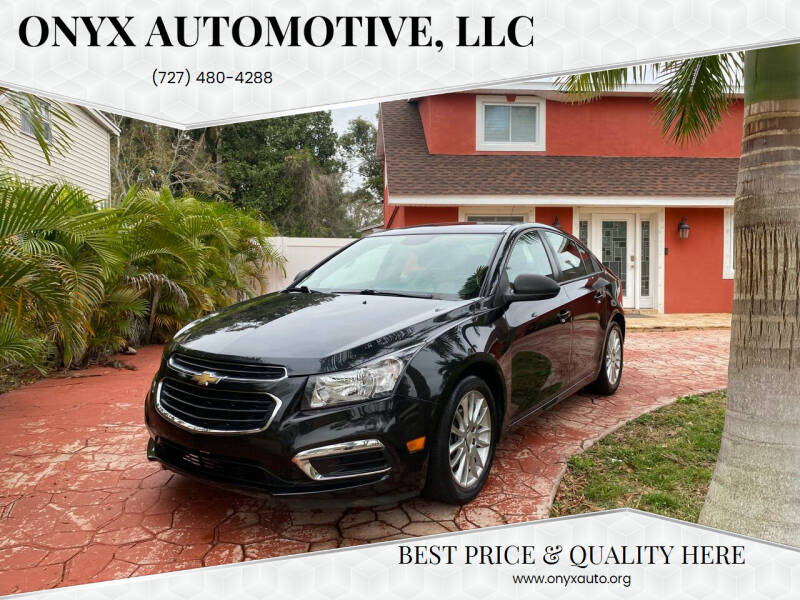 2016 Chevrolet Cruze Limited for sale at ONYX AUTOMOTIVE, LLC in Largo FL