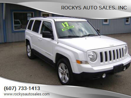 2017 Jeep Patriot for sale at Rockys Auto Sales, Inc in Elmira NY
