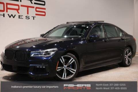 2018 BMW 7 Series for sale at Fishers Imports in Fishers IN