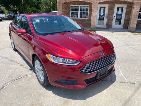 2016 Ford Fusion for sale at MITCHELL AUTO ACQUISITION INC. in Edgewater FL