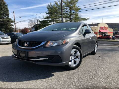2013 Honda Civic for sale at Keystone Auto Center LLC in Allentown PA