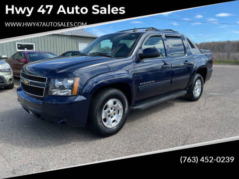 2010 Chevrolet Avalanche for sale at Hwy 47 Auto Sales in Saint Francis MN