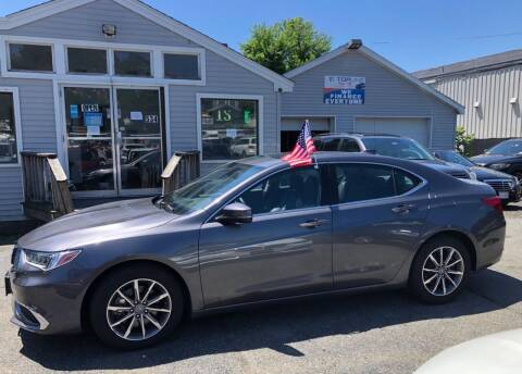 2019 Acura TLX for sale at Top Line Import in Haverhill MA