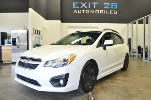 2014 Subaru Impreza for sale at Exit 28 Auto Center LLC in Cornelius NC