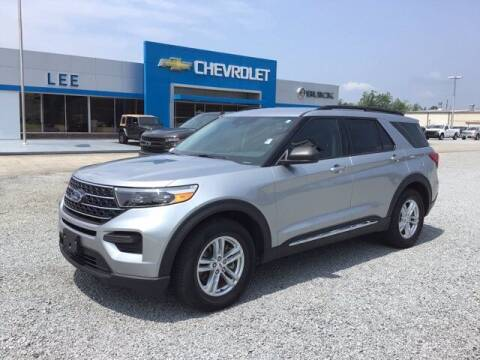 2020 Ford Explorer for sale at LEE CHEVROLET PONTIAC BUICK in Washington NC