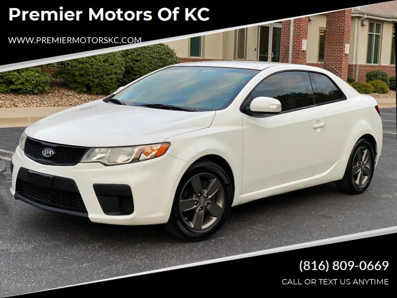 2010 Kia Forte Koup for sale at Premier Motors of KC in Kansas City MO