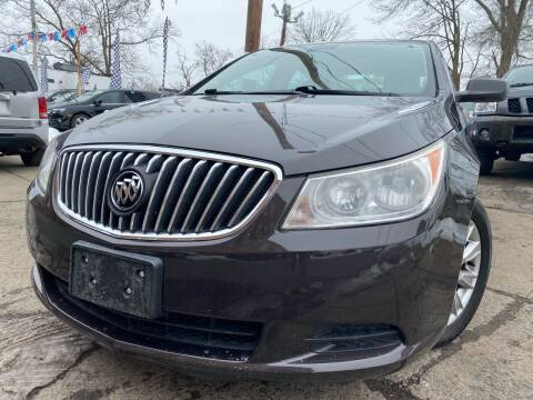 2013 Buick LaCrosse for sale at Best Cars R Us in Plainfield NJ