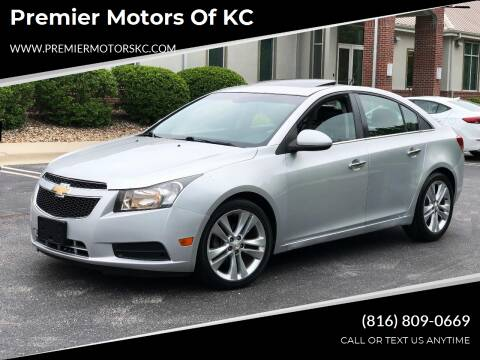 2011 Chevrolet Cruze for sale at Premier Motors of KC in Kansas City MO