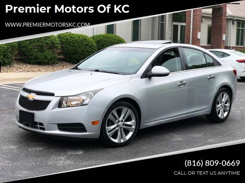 2011 Chevrolet Cruze for sale at Premier Motors of KC in Kansas City MO