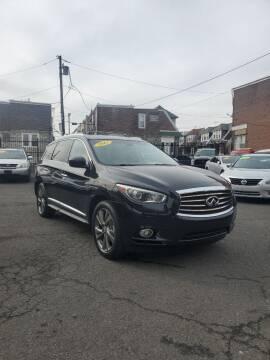 2013 Infiniti JX35 for sale at Key & V Auto Sales in Philadelphia PA
