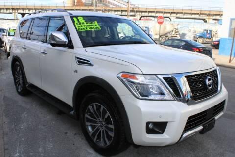 2018 Nissan Armada for sale at LIBERTY AUTOLAND INC - LIBERTY AUTOLAND II INC in Queens Villiage NY