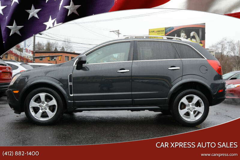 2015 Chevrolet Captiva Sport for sale at Car Xpress Auto Sales in Pittsburgh PA