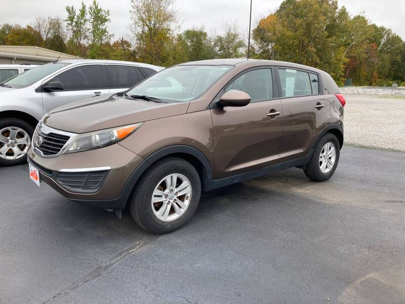 2011 Kia Sportage for sale at McCully's Automotive - Under $10,000 in Benton KY