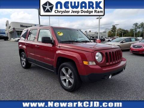 2017 Jeep Patriot for sale at NEWARK CHRYSLER JEEP DODGE in Newark DE