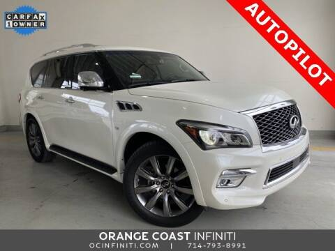 2017 Infiniti QX80 for sale at ORANGE COAST CARS in Westminster CA