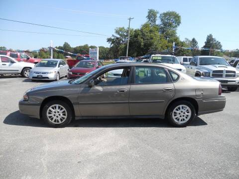 2003 Chevrolet Impala for sale at All Cars and Trucks in Buena NJ