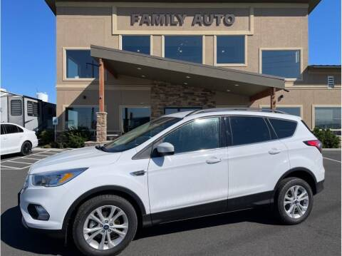 2018 Ford Escape for sale at Moses Lake Family Auto Center in Moses Lake WA
