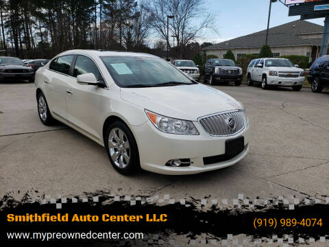 2012 Buick LaCrosse for sale at Smithfield Auto Center LLC in Smithfield NC