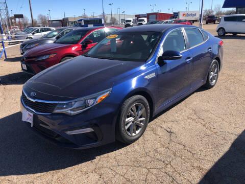 2019 Kia Optima for sale at BUDGET CAR SALES in Amarillo TX
