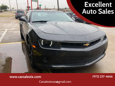 2015 Chevrolet Camaro for sale at Excellent Auto Sales in Grand Prairie TX