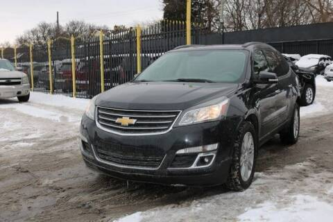 2015 Chevrolet Traverse for sale at F & M AUTO SALES in Detroit MI