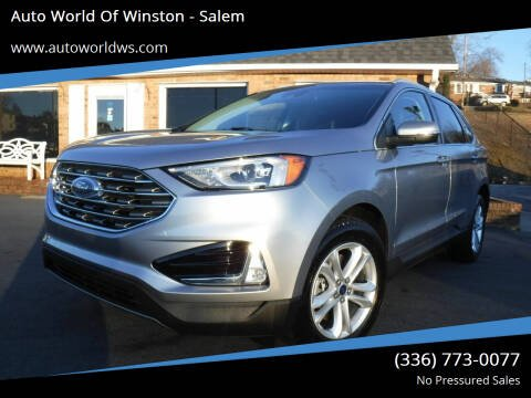 2020 Ford Edge for sale at Auto World Of Winston - Salem in Winston Salem NC