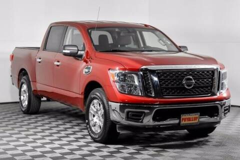 2017 Nissan Titan for sale at Washington Auto Credit in Puyallup WA