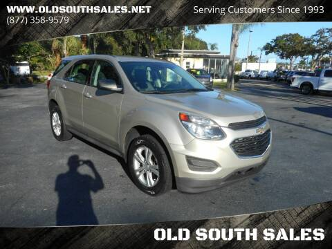 2016 Chevrolet Equinox for sale at OLD SOUTH SALES in Vero Beach FL