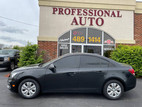 2016 Chevrolet Cruze Limited for sale at Professional Auto Sales & Service in Fort Wayne IN