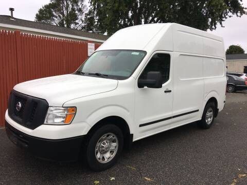 2012 Nissan NV Cargo for sale at Bill's Auto Sales in Peabody MA