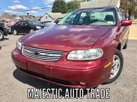 2003 Chevrolet Malibu for sale at Majestic Auto Trade in Easton PA