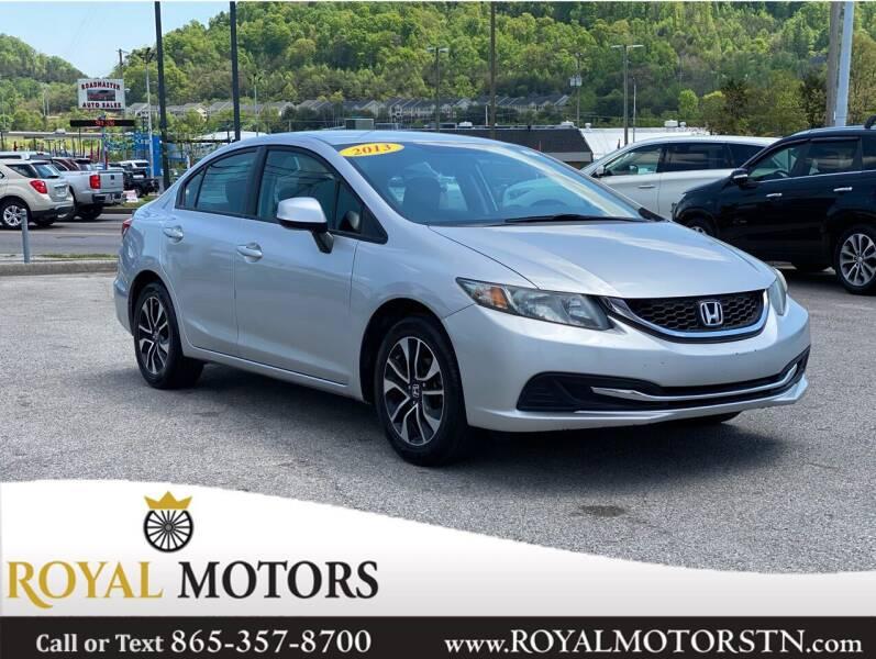 2013 Honda Civic for sale at ROYAL MOTORS LLC in Knoxville TN