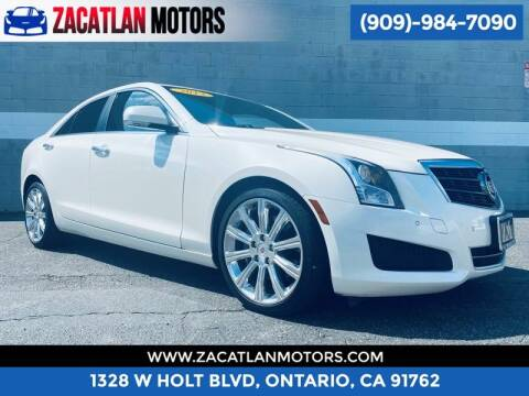 2013 Cadillac ATS for sale at Ontario Auto Square in Ontario CA