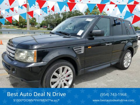 2008 Land Rover Range Rover Sport for sale at Best Auto Deal N Drive in Hollywood FL