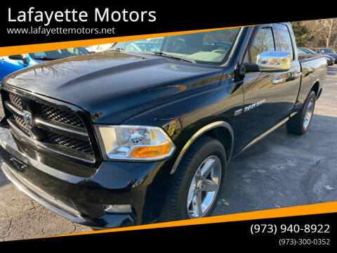 2012 RAM Ram Pickup 1500 for sale at Lafayette Motors in Lafayette NJ