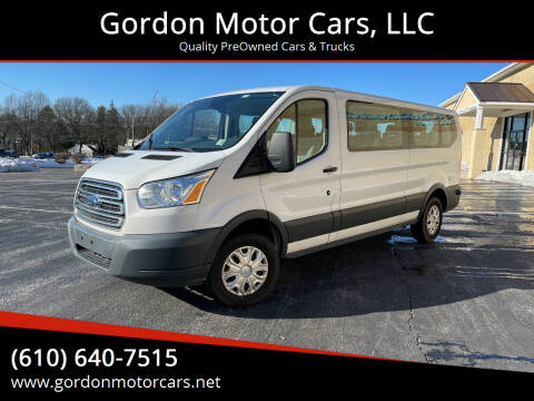 2015 Ford Transit Passenger for sale at Gordon Motor Cars, LLC in Frazer PA