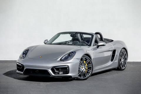 2016 Porsche Boxster for sale at Nuvo Trade in Newport Beach CA