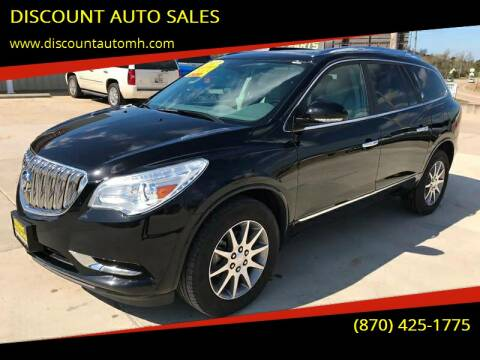2017 Buick Enclave for sale at DISCOUNT AUTO SALES in Mountain Home AR