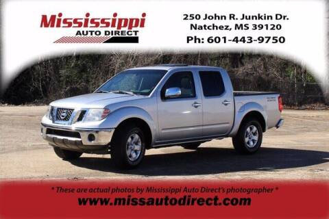 2010 Nissan Frontier for sale at Auto Group South - Mississippi Auto Direct in Natchez MS