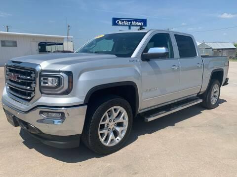 2018 GMC Sierra 1500 for sale at Keller Motors in Palco KS