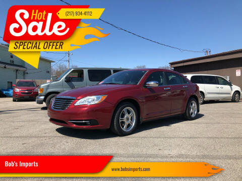 2012 Chrysler 200 for sale at Bob's Imports in Clinton IL