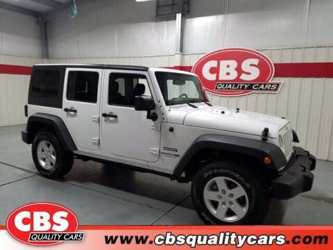 2018 Jeep Wrangler JK Unlimited for sale at CBS Quality Cars in Durham NC