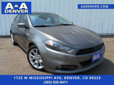 2013 Dodge Dart for sale at A & A AUTO LLC in Denver CO