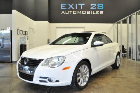 2010 Volkswagen Eos for sale at Exit 28 Auto Center LLC in Cornelius NC