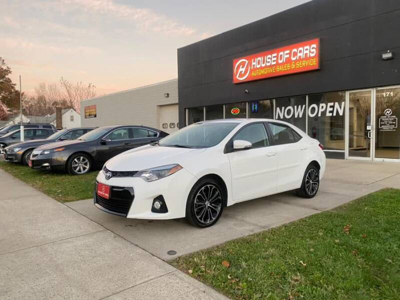 2014 Toyota Corolla for sale at HOUSE OF CARS CT in Meriden CT