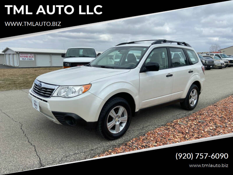 2010 Subaru Forester for sale at TML AUTO LLC in Appleton WI