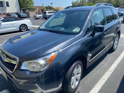 2015 Subaru Forester for sale at Coast Auto Motors in Newport Beach CA