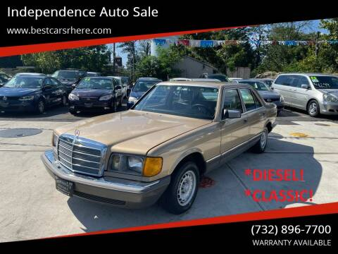 1984 Mercedes-Benz 300-Class for sale at Independence Auto Sale in Bordentown NJ