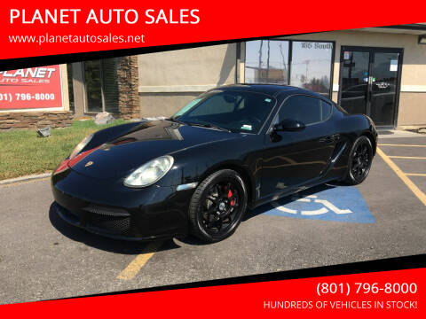 2007 Porsche Cayman for sale at PLANET AUTO SALES in Lindon UT
